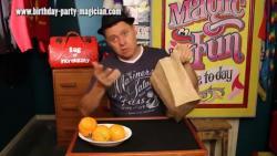 تغییر میوه ها داخل پاکت How to Change Orange